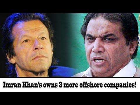Hanif Abbasi claims to expose 3 more offshore companies of Imran Khan | 24 News HD