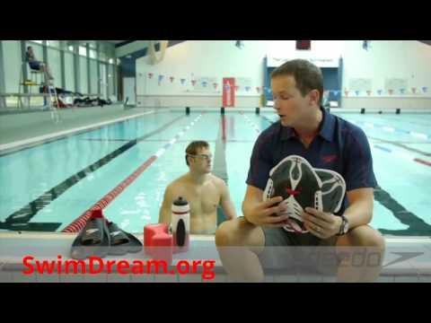 Силовые лопатки для плавания Speedo Biofuse power paddles
