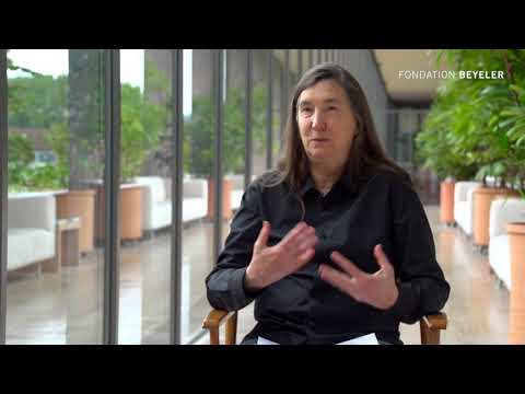 Interview with Jenny Holzer at Fondation Beyeler