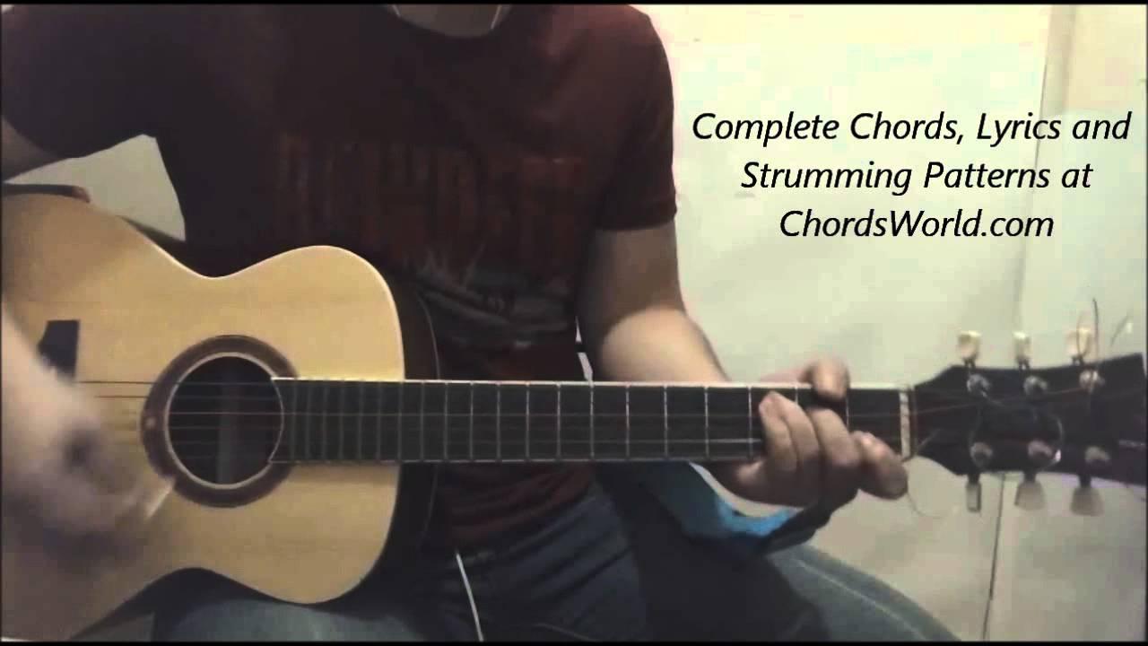 Justin Bieber Purpose Chords Guitar Lesson Youtube