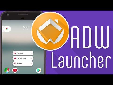 ADW Launcher - лаунчер в стиле Android 7.1