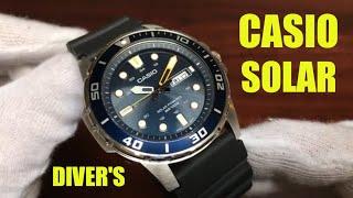 2020 Best Selling Casio Diver's Solar Watch? MTPS110-2AV