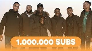 BEDANKT VOOR 1 MILJOEN SUBS!