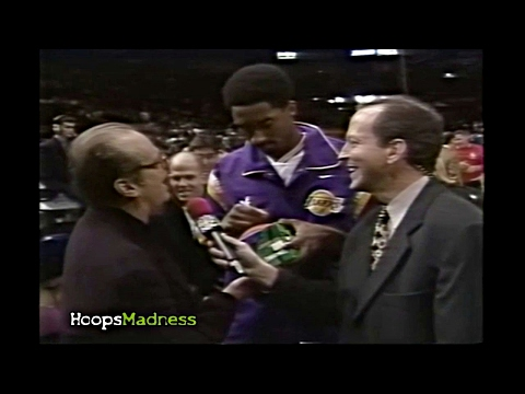Jack Nicholson Asks Years Old Kobe Bryant For His Autograph Kobe Like Yes Made It