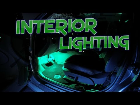 How to Professionally Install LED Interior Lighting in Your Vehicle for Dirt Cheap
