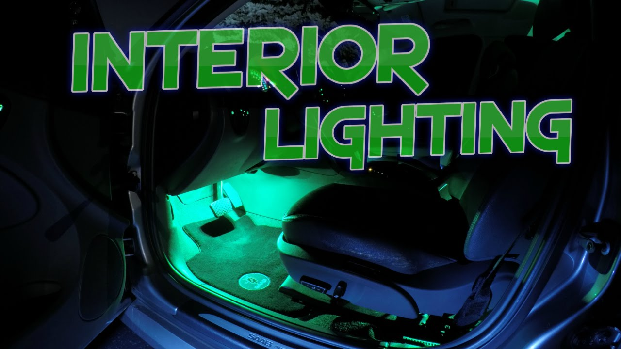 How to professionally install led interior lighting in - Led lights for cars interior install ...