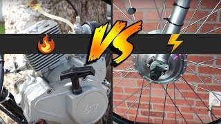 Electric Bikes vs Motorized Gas Bikes | Which Is Best For You?