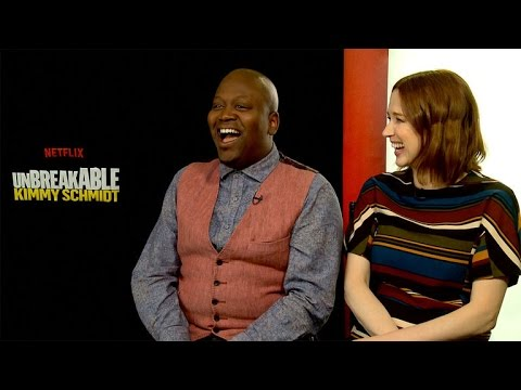 EXCLUSIVE: Watch 'Unbreakable Kimmy Schmidt' Stars Break Into Song About Season 2!