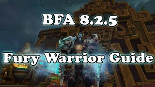 Patch 8.2.5 Fury Warrior DPS Guide