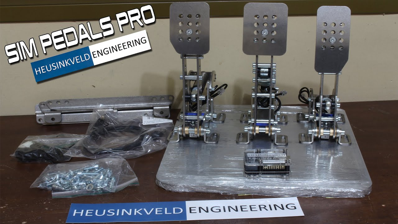 Heusinkveld Engineering | Sim Racing Coach