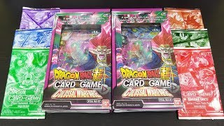 Opening Dragon Ball Super Colossal Warfare Special Pack Kits, Dash Packs, and Tournament Packs!