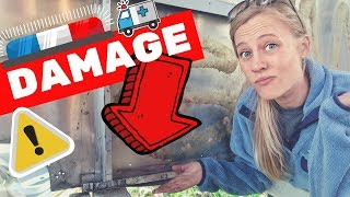 DAMAGE FOUND: Airstream Argosy Renovation 😬🛠 RV Living & Airstream Trailer