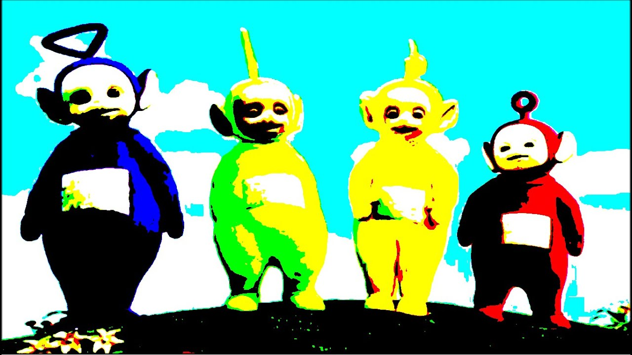 Scary Teletubbies Black And White Pictures To Pin On Pinterest - Teletubbies in black and white is terrifying