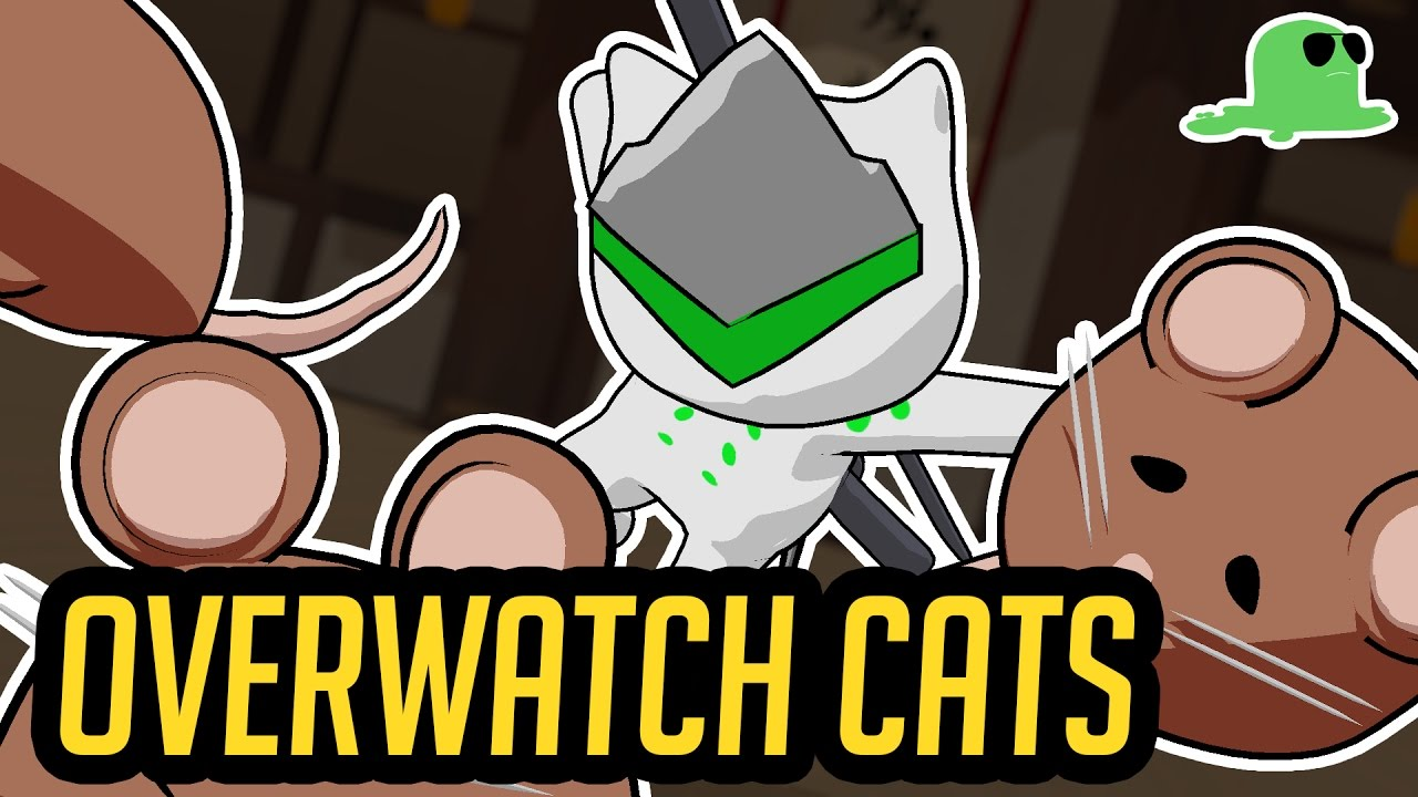 "Overwatch but with Cats - ""KatsuWatch"" - Offense Heroes"