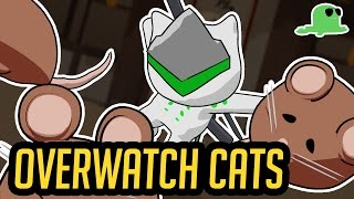 """Overwatch but with Cats - """"KatsuWatch"""" - Offense Heroes"""