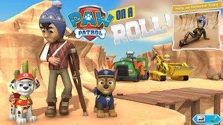 Paw Patrol on a Roll прохождение #8 Щенячий Патруль Гонщик и Маршал помогают Джэйку