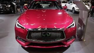 2017 infiniti q60s red sport 3 0t walkaround exterior 2017 montreal auto show