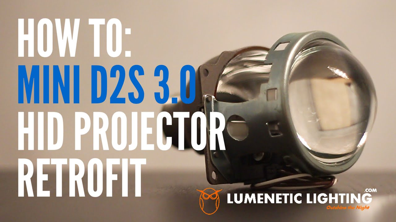 how to mini d2s 3 0 projectors diy h4 9003 hid install 2002 honda crv lumeneticlighting com youtube [ 1280 x 720 Pixel ]