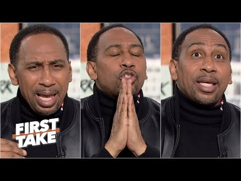 Stephen A. unleashes