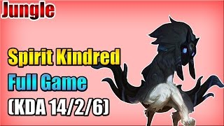 WE Spirit - Kindred vs Warwick - Jungle - Full Game (Oct 15, 2015)