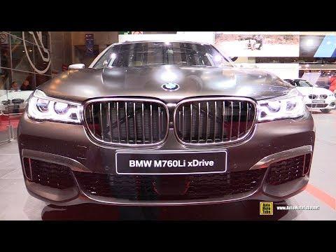2017 BMW M760Li xDrive - Exterior and Interior Walkaround - 2016 Paris Motor Show