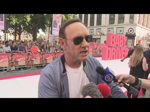 Baby Driver: Kevin Spacey talks music and movies