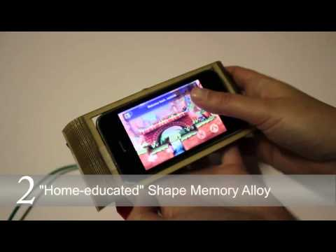 Smartphones evolving from flat to flex with new shapeshifting prototypes