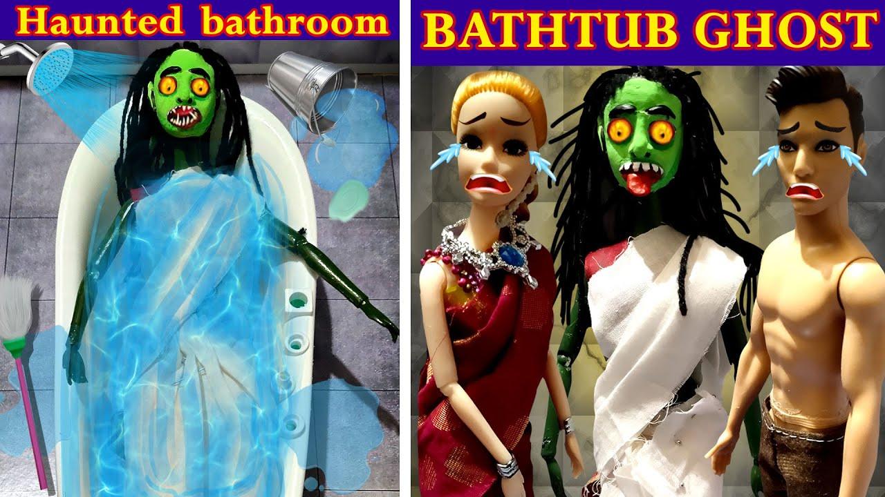 Download Bathtub ghost | barbie horror stories | Haunted Bathtub | barbie tamil | mini foodies |