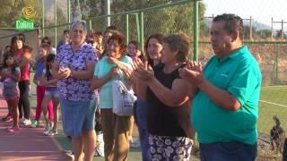 INAUGURACIÓN CANCHA DE ESMERALDA