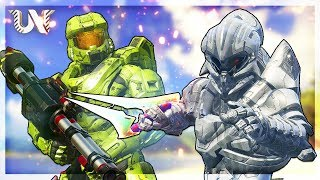Halo 5 - Arby 'n' The Chief Warzone Challenge! (Ft. TheReachWay)