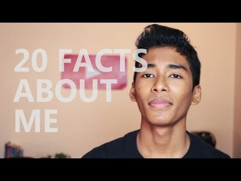 20 Facts About Me | RajanTalks
