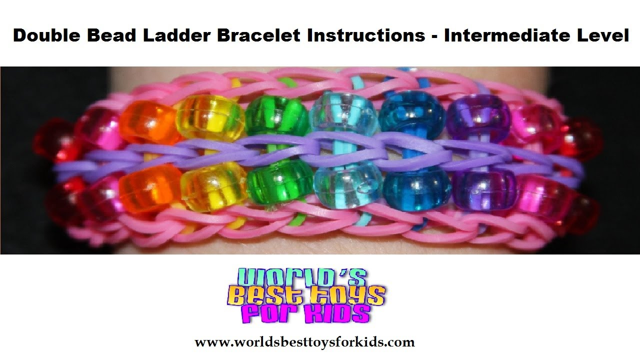Rainbow Loom Rubber Band Refill Double Bead Ladder