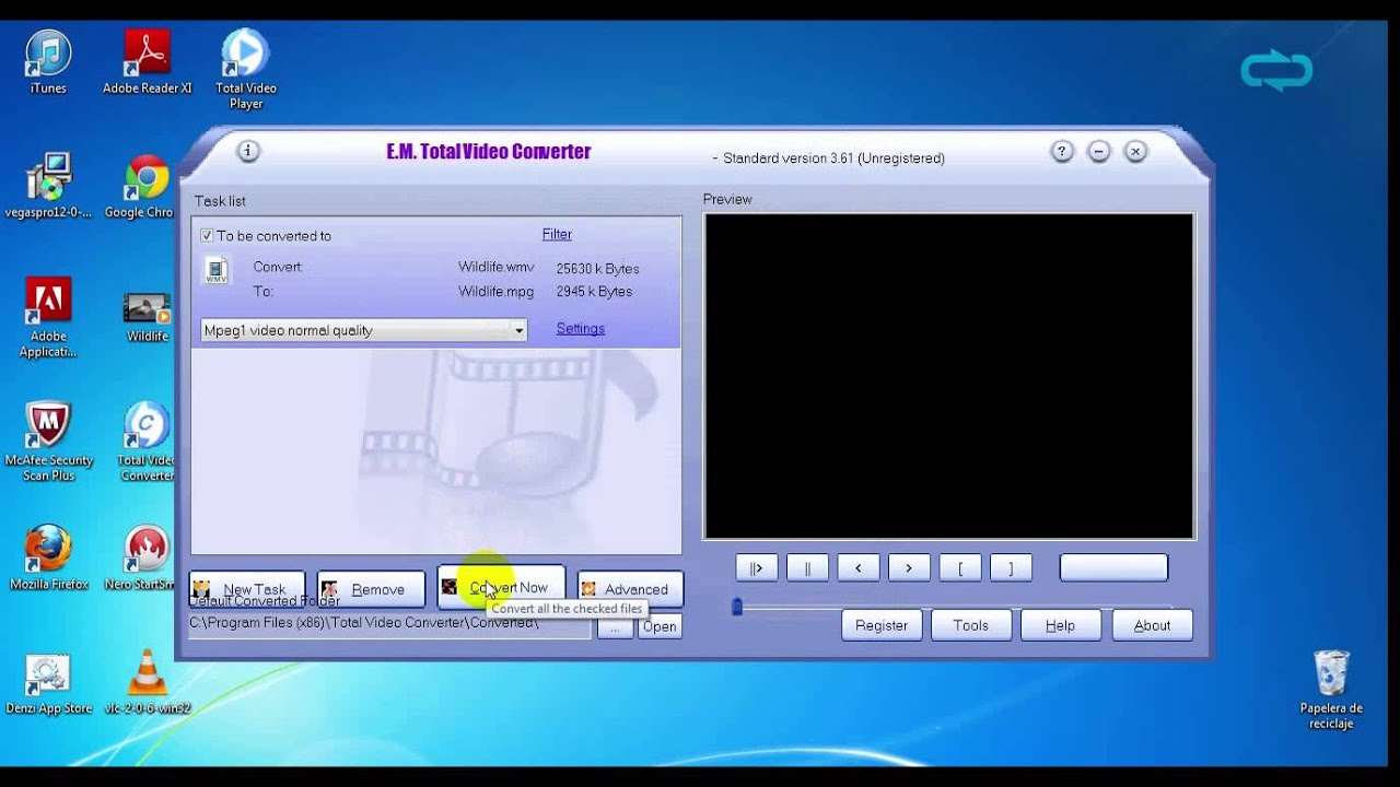 Total Video Converter - Quick Video Tutorial Free Download - YouTube