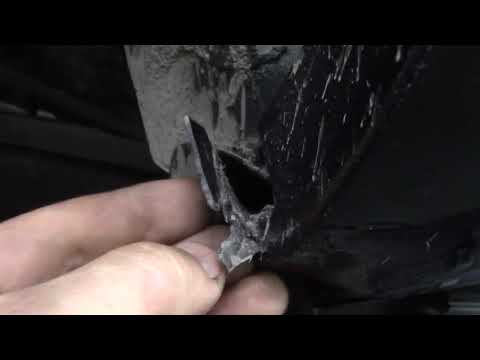 Кукурузник и его крылья #1. Тойота Лэнд Крузер. Body repair after an accident.