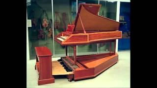 J.S. Bach - Trio Sonata in G Major - BWV 530 - 2/3 - Pedal Harpsichord