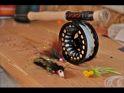 2017 Bass Fly Fishing Gear Perfect for Fly Fishing for Bass w/ Spring Streamers and Poppers 2017