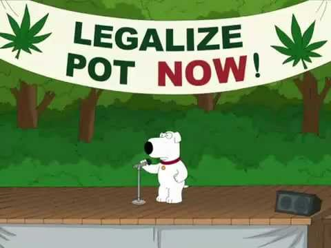 Family Guy    Everything is better with A bag of weed