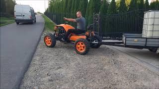Quad samoróbka 1.9TD 4x4! Homemade ATV Quad!