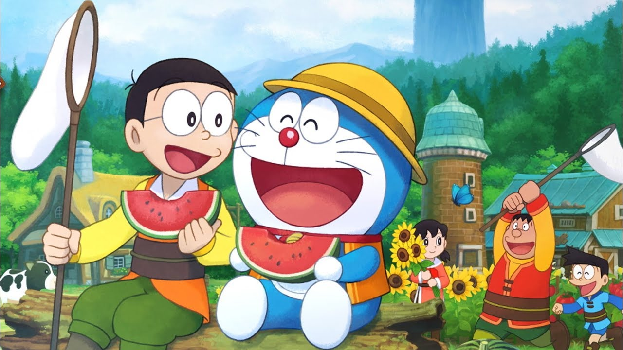 Doraemon: Story of Seasons - Announcement Trailer | Switch, PC ...