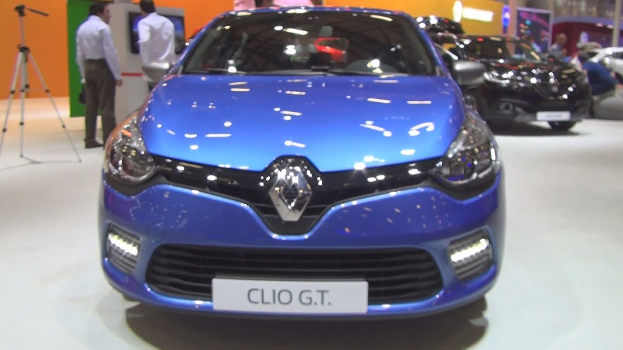 renault clio gt line 1 2 turbo edc 2015 exterior and interior in 3d youtube. Black Bedroom Furniture Sets. Home Design Ideas