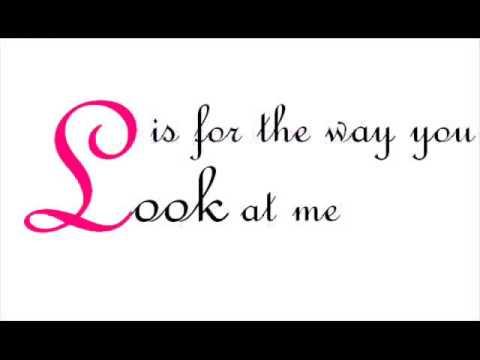 Nat King Cole - L-O-V-E w/ lyrics (REDONE)