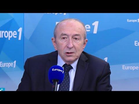 """Gérard Collomb : """"On a donné des consignes de retenue"""" pour l'évacuation de NDDL"""