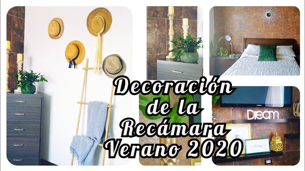 DECORACIÓN DE LA RECAMARA VERANO 2020