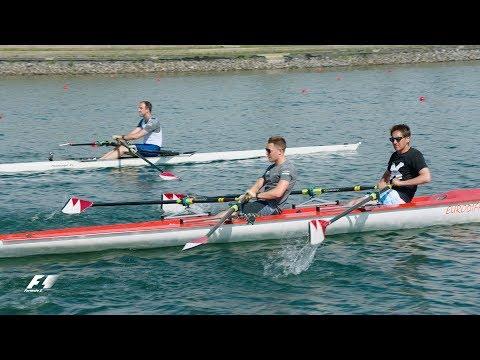 Stoffel Vandoorne Takes On Olympic Medallist Tom Stallard At Rowing