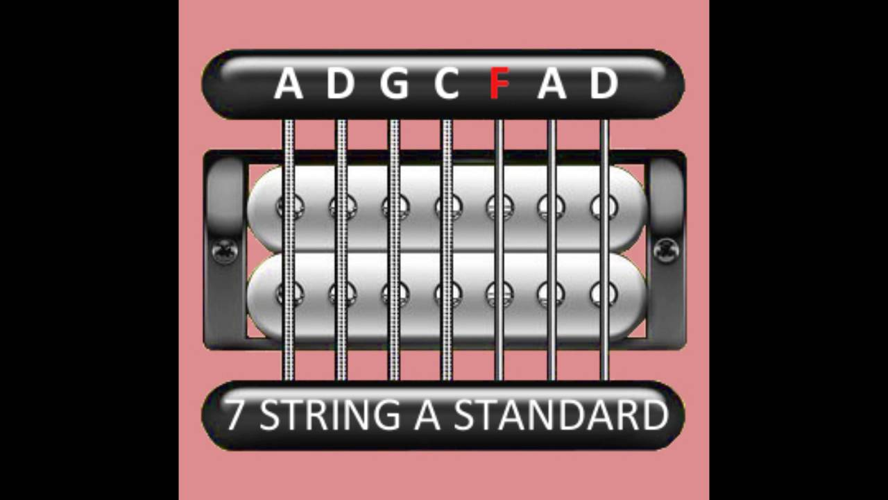 perfect guitar tuner 7 string a standard a d g c f a d youtube. Black Bedroom Furniture Sets. Home Design Ideas
