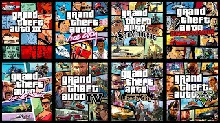 TOP 15 GRAND THEFT AUTO Games Ranked WORST to BEST!