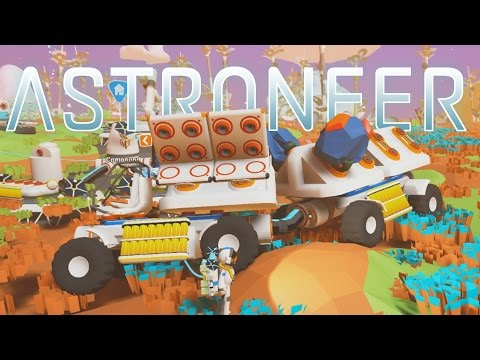 Save Astroneer - Ep. 3 - Derpy Truck Adventure! - Let's Play Astroneer Gameplay Pre-Alpha Images