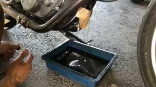 自分で出来るバイクメンテ SR400のオイル・フィルタ交換方法 thumbnail