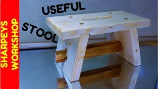 Diy Step Stool From Scaffold Boards