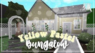 ROBLOX | Bloxburg : Yellow Pastel Bungalow ♡